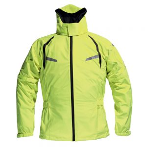 Adventure Bike Shop Dane Byge Yellow Rain Jacket