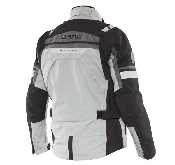 Adventure Bike Shop Dane Sealand Light Grey Jacket back